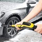 Mytí auta pod kontrolou